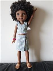 Sharron Johnson verified customer review of Popsicle Top 14.5 Doll Clothes Pattern
