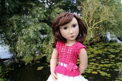 Inma verified customer review of Romantic Fusion Crochet Pattern for AGAT Dolls
