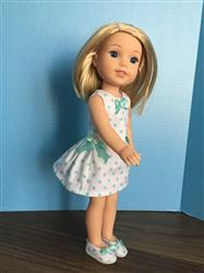 Darlene verified customer review of Polka Dot Party Dress 14.5 Doll Clothes Pattern