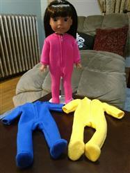 Laura M. verified customer review of Footie Jammies 14.5 Doll Clothes Pattern