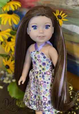 Jodie R. verified customer review of Simply Summer Sundress 14.5 Doll Clothes Pattern