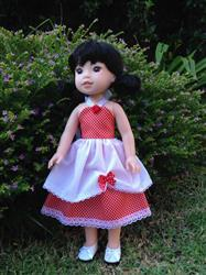 Anne-Marie S. verified customer review of Simply Summer Sundress 14.5 Doll Clothes Pattern