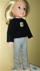 Joanne verified customer review of Skinny Utility Pants 14.5 Doll Clothes Pattern