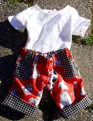 Pixie Faire Summer Camp Collection: Roll-Up Capris 18 Doll Clothes Review
