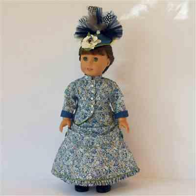 Sally L. verified customer review of 1870's Bustle Dress 18 Doll Clothes Pattern