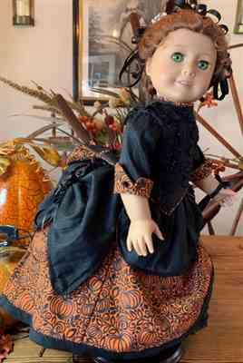 Sharon verified customer review of 1870's Bustle Dress 18 Doll Clothes Pattern
