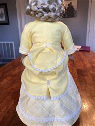 Paris  verified customer review of 1870's Bustle Dress 18 Doll Clothes Pattern