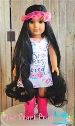 The Pearl Pony verified customer review of Sunshine Dress 18 Doll Clothes Pattern