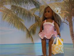 Pat P verified customer review of The One-Piece Bathing Suit 18 Doll Clothes