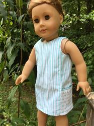Melangell verified customer review of A Stitch In My Side Pocket Dress 18 Doll Clothes Pattern