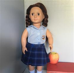 Jess verified customer review of Timeless Schoolgirl Skirt 14-14.5 Doll Clothes Pattern