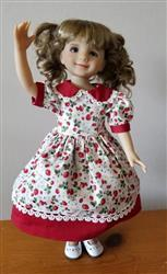Vera Z. verified customer review of School Girl Pattern for Little Darling Dolls