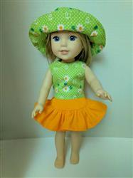 Brenda N. verified customer review of Bella Blouse 14.5 Doll Clothes Pattern