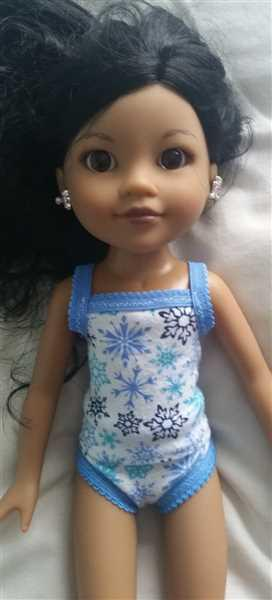 Vanessa Young verified customer review of Dainty Things 14.5 Doll Clothes Pattern
