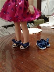 Pixie Faire Bow Tie Slip-Ons 14.5 Doll Clothes Pattern Review