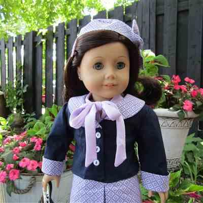 Patricia Sears verified customer review of Twelve-Month Tie Blouse 18 Doll Clothes
