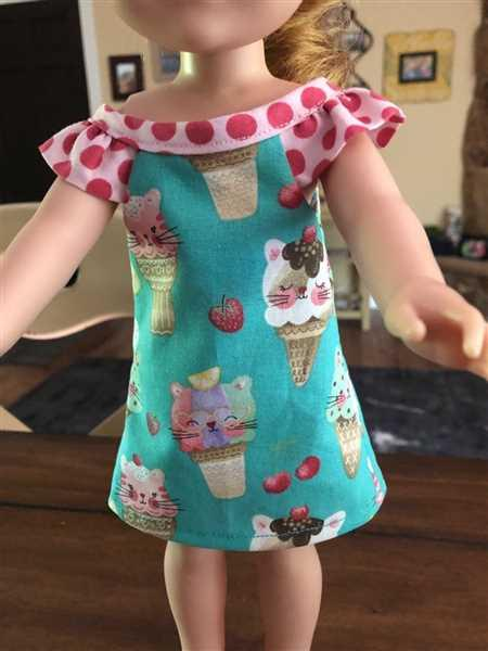 Pixie Faire Forty Winks 14.5 Doll Clothes Pattern Review