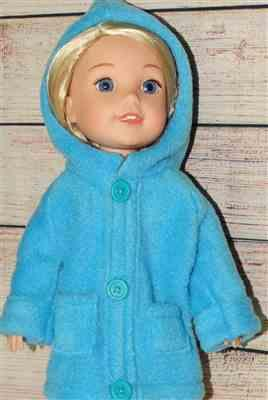 Angela verified customer review of Oxford Square Coat 14 - 14.5 Inch Doll Clothes Pattern