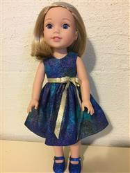 Georjean K. verified customer review of Princess Anya 14.5 Doll Clothes Pattern