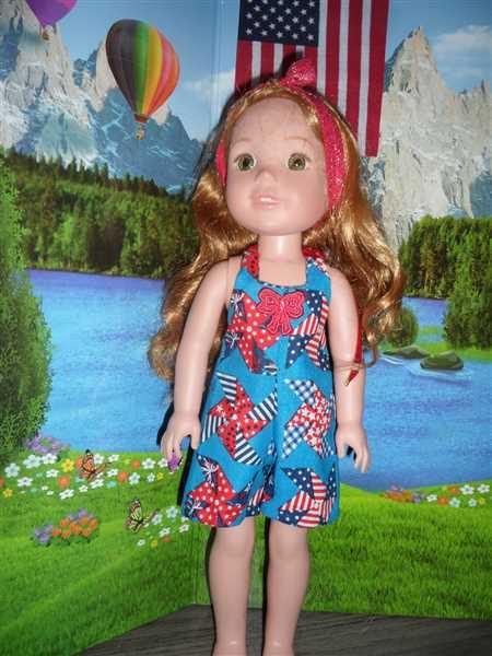 Pixie Faire HalterAlls for Dolls 14.5 Doll Clothes Pattern Review