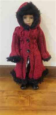 Loronda S. verified customer review of Cable Flair Coat Knitting Pattern