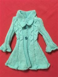 Delia S. verified customer review of Cable Flair Coat Knitting Pattern