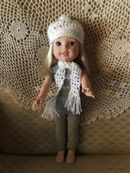 Deborah B. verified customer review of FREE Cozy Winter Beanie Crochet Pattern for 13 to 16 inch Dolls