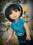 Julie H. verified customer review of Forget-Me-Knot Top 14.5 Doll Clothes Pattern