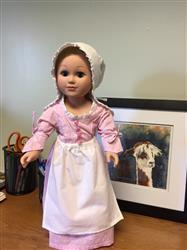 Laura verified customer review of Betsy Ross Shop Apron & Cap 18 Doll Accessories