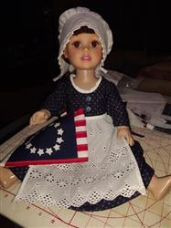 Joanna Jackson verified customer review of Betsy Ross Outfit Bundle 18 Doll Clothes