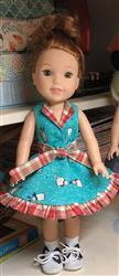 DEBRA HENRICKS verified customer review of Topsy-Turvy 14.5 Doll Clothes Pattern