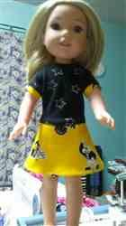 Joanne G. verified customer review of Ella Rose Dress Pattern for 14-14.5 Inch Dolls