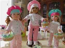 J L verified customer review of Chef Uniform Pattern for 14 to 14.5 Inch Dolls