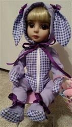 mary c. verified customer review of Hoppity Bunny Suit 14-14.5 Inch Doll Clothes Pattern