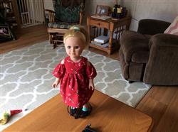 Mary l. verified customer review of Peek-A-Boo Dress 18 Doll Clothes Pattern