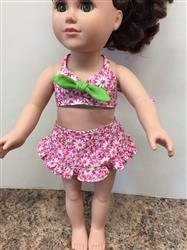 Carol verified customer review of Aloha Vintage Swimsuit and Hula Accessories Bundle 18 Doll Clothes Pattern