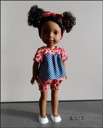 Pixie Faire Bloomer Buddies 14.5 Doll Clothes Pattern Review