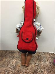 Carol verified customer review of Guitar Case 18 Doll Accessory Pattern