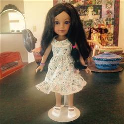 Karen C. verified customer review of Butterfly Kisses 14-14.5 Doll Clothes Pattern
