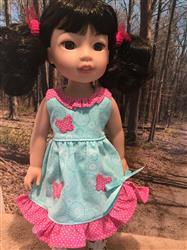 Donna verified customer review of Butterfly Kisses 14-14.5 Doll Clothes Pattern