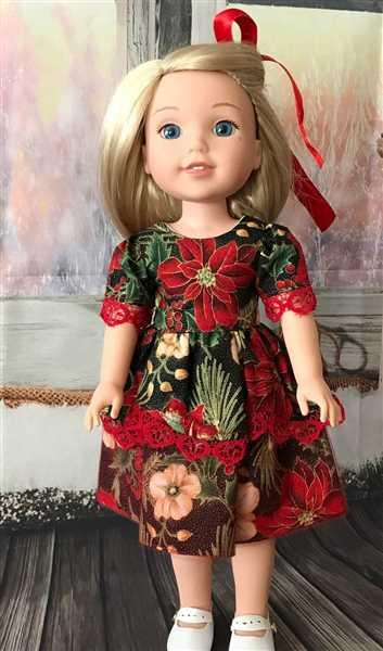 Pixie Faire Lady Nicoli 14.5 Doll Clothes Pattern Review
