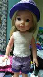 Joanne G. verified customer review of Alana 14-14.5 Doll Clothes Pattern