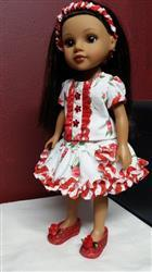 Juanita S. verified customer review of Basking In Ruffles 14-14.5 Doll Clothes Pattern