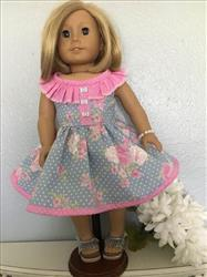 Pixie Faire Country Diva Dress & Top 18 Doll Clothes Pattern Review