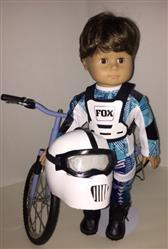 Sewbig verified customer review of Motocross Helmet and Goggles 18 Doll Accessory Pattern