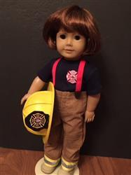 Sewbig verified customer review of Firefighter Helmet 18 Doll Accessory Pattern