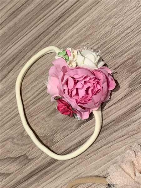 Pretty in Pink Supply 1.5 Vintage RUFFLE Peony Flowers Review