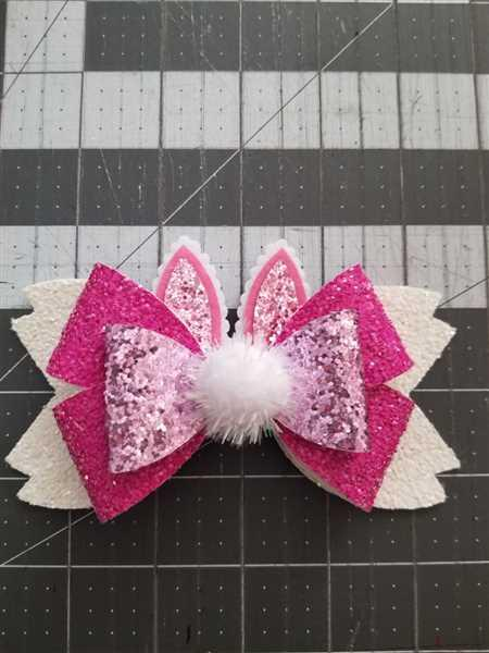 angelica Reyes verified customer review of NEW GLITTER Bunny Ears Felt Cut Out Applique
