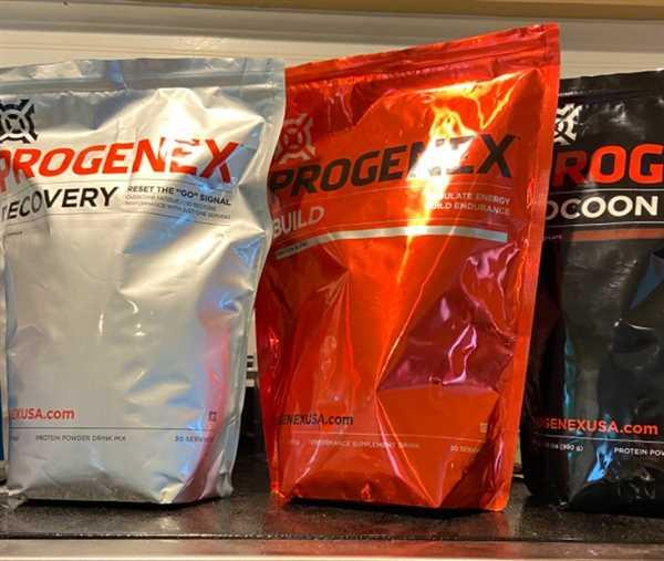 Progenex Single Serve Packets Review