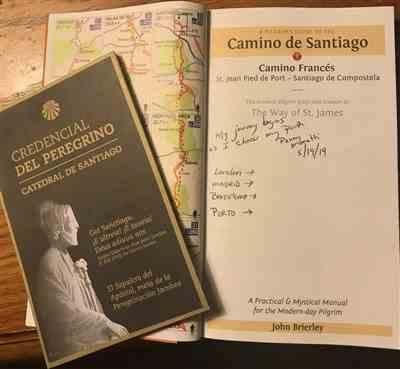 Penny M. verified customer review of Official Camino Passport (Credential)